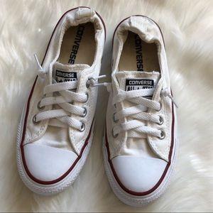 White converse Slip-on